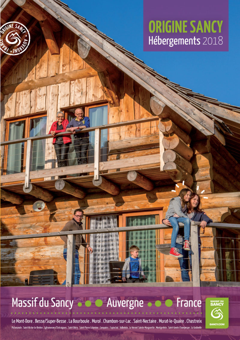 Brochure Hébergements Sancy 2018